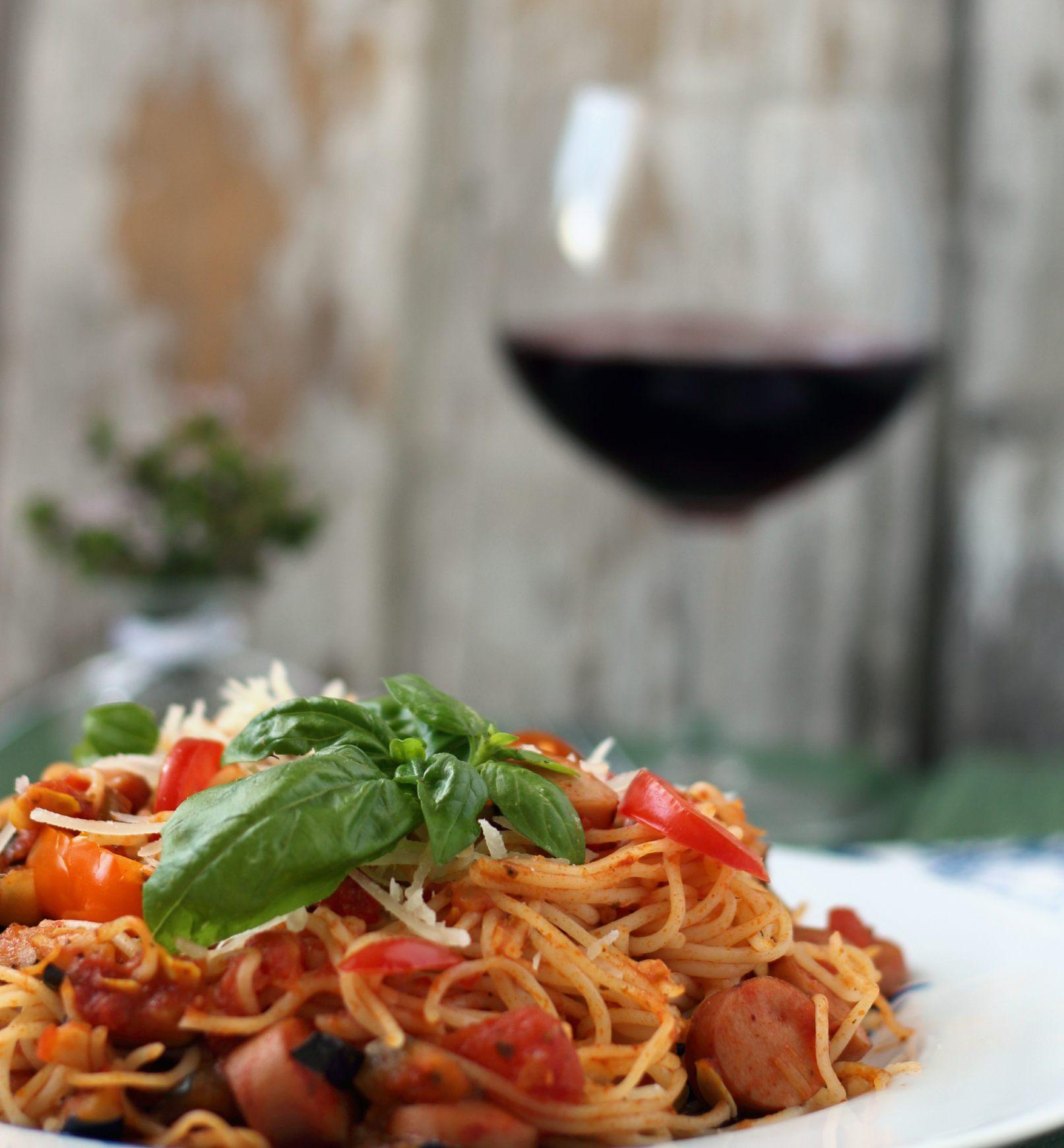 rezepte mit schwarzen spaghetti